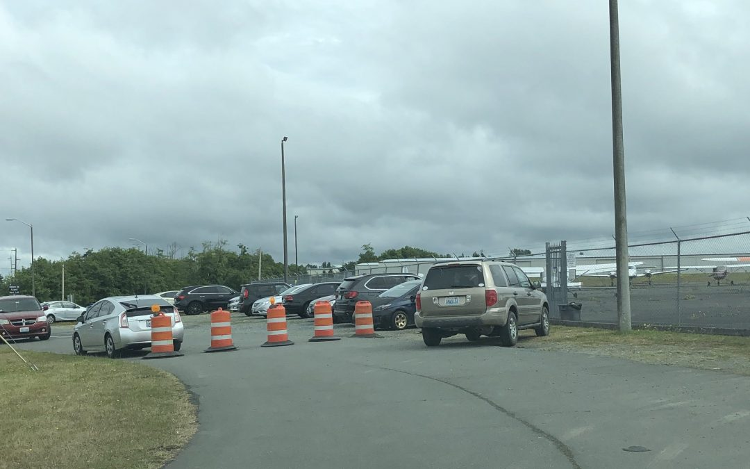Vehicle Parking Problems at Paine Field
